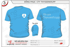 May đồng phục công ty Thyssenkrupp | SMSGroup